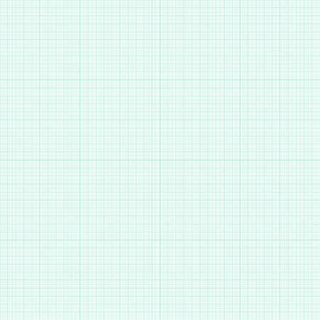 millimetre: Seamless pattern with graph paper