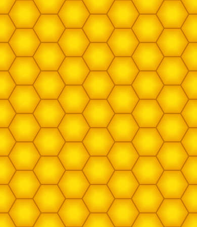 honeyed: Seamless pattern of the honeycombs
