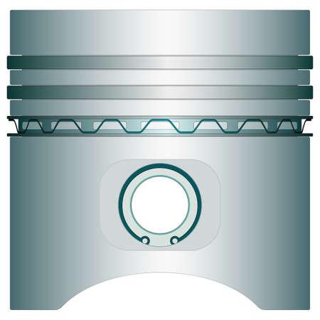 icône du piston du moteur pour la conception de divers