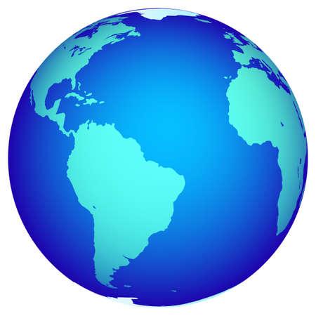 Illustration of the Globe. Stock Vector - 24894590