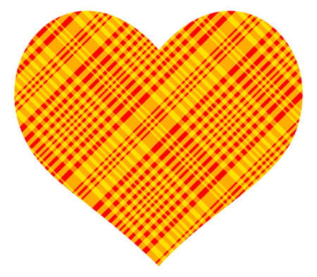 compliments: Abstract patterned heart for the Valentine day