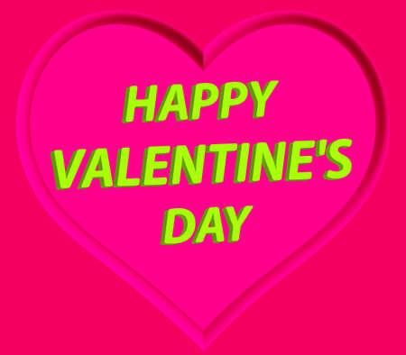 impress: San Valentino saluto con il cuore impronta