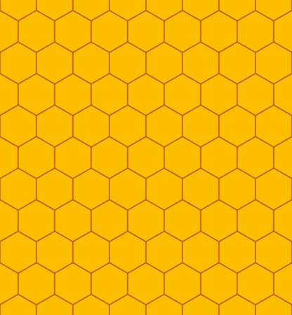 Seamless pattern of the honeycomb