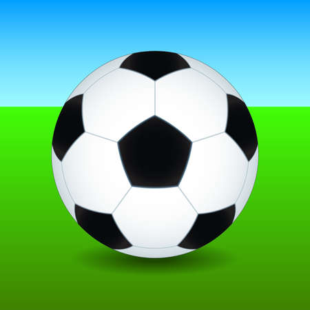 uefa: Fu�ball auf dem gr�nen Feld