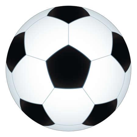 uefa: Illustration des Fu�balls Illustration