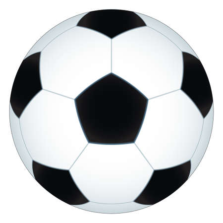soccerball: Illustration of the soccer ball