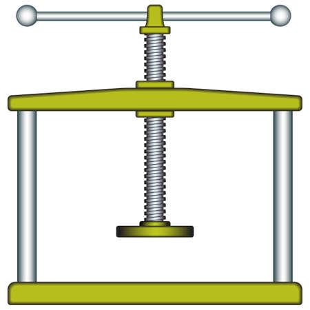 metalwork: Press icon for various design