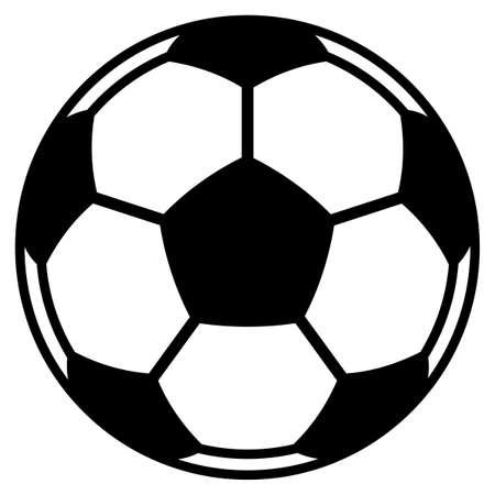 uefa: Illustration der Fu�ball-Fu�ball Illustration