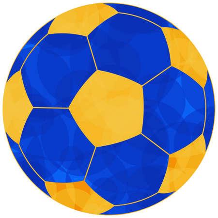 terrain de handball: Illustration de la balle ic�ne du football  soccer