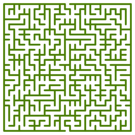 Illustration of the maze for leisure Vector