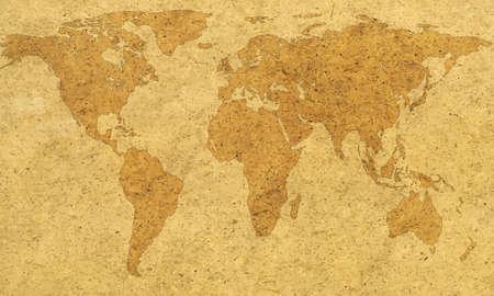 Résumé carte de texture du monde. Éléments de cette image fournie par la NASA. Source de la carte: http://visibleearth.nasa.gov/view.php?id=74518