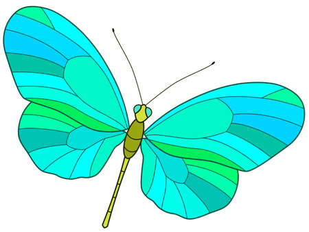 motley: Illustration of the motley butterfly