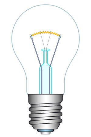 Illustration of the light bulb