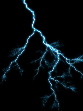 lighting background: Abstract background with the lighting on dark sky