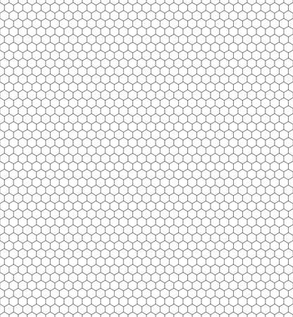 netting: Seamless pattern of the hexagonal netting Illustration