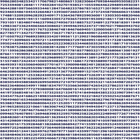 enumeration: Abstract seamless pattern of the infinite numbers set Illustration
