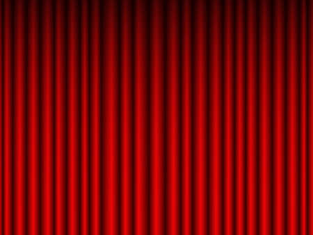 crimson: Illustration of the crimson curtain background