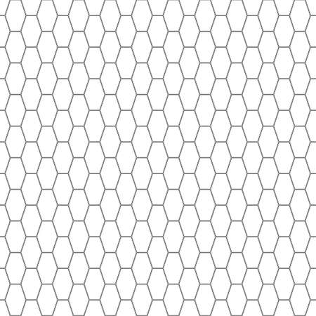oblong: Seamless pattern of the oblong hexagonal netting