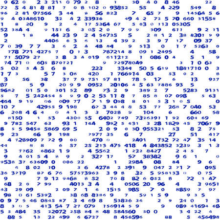 tally: Abstract seamless pattern of the random sized infinite group numbers set