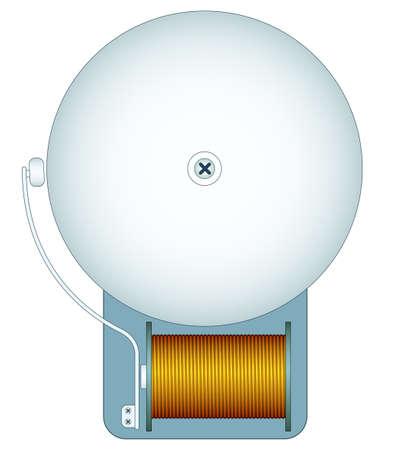 電気ベルのアイコンの図