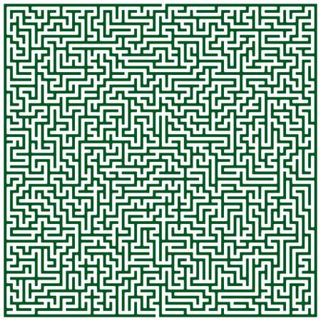 Illustration of the maze pattern Vector