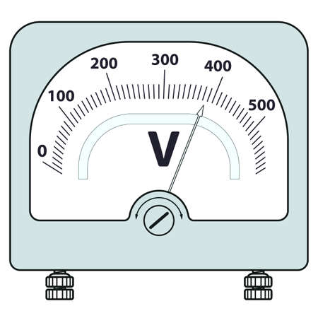 Illustration of the voltmeter icon