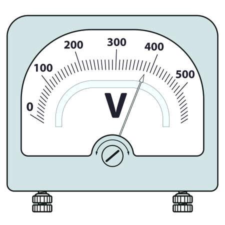 voltmeter: Illustration of the voltmeter icon