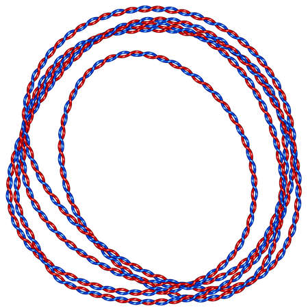 coiled: Illustration of the coiled cable icon