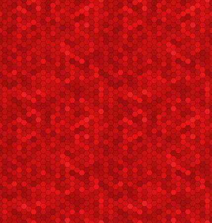 mottle: Seamless ornamento astratto del mosaico esagoni