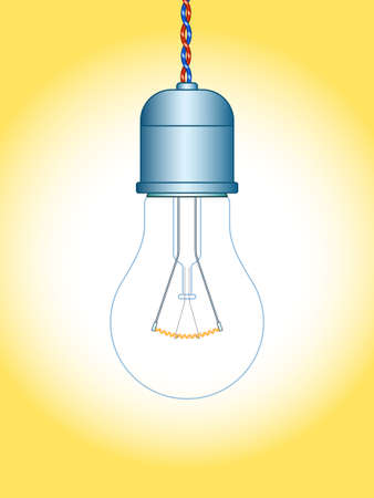 Illustration of the light bulb