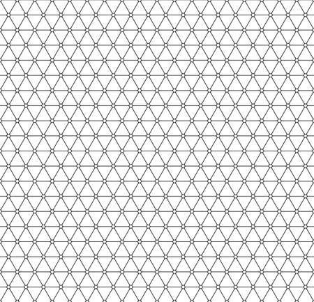 netting: Seamless pattern of the triangle elements netting