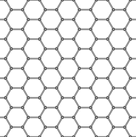 covering cells: Seamless pattern of the hexagonal mosaic