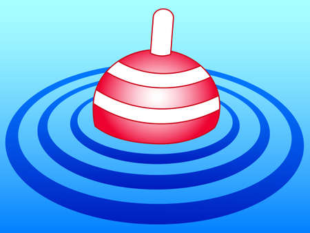 banded: Illustration of the float icon Illustration