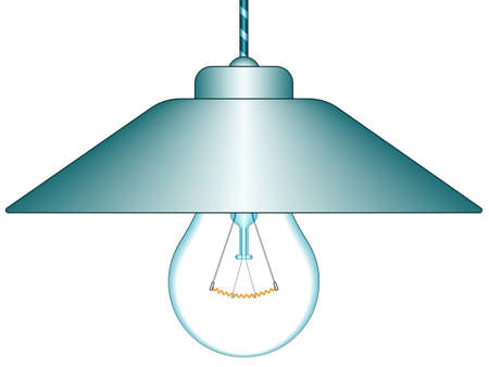tungsten: Illustration of the glowing light icon