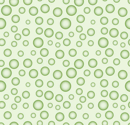 prominence: Seamless abstract pattern of the various salience spheres Illustration