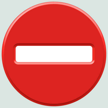 banning the symbol: Do not enter sign icon for various design Illustration