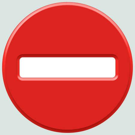 do not enter sign: Do not enter sign icon for various design Illustration