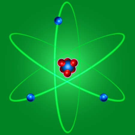 PROTON: Illustration of the abstract atom icon