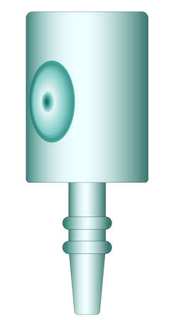 top gun: Illustration of the sprayer head Illustration
