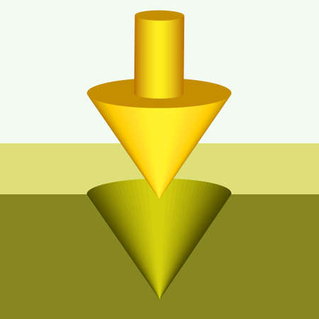 indent: Illustration of the abstract cursor Illustration