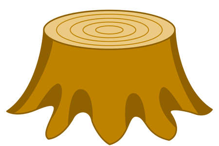 snag: Illustration of the stump icon