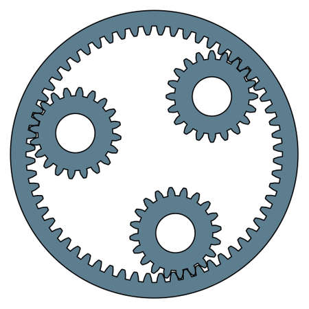 planetary: Illustration of the planetary gear