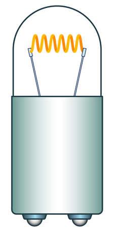 Illustration of the mini light bulb