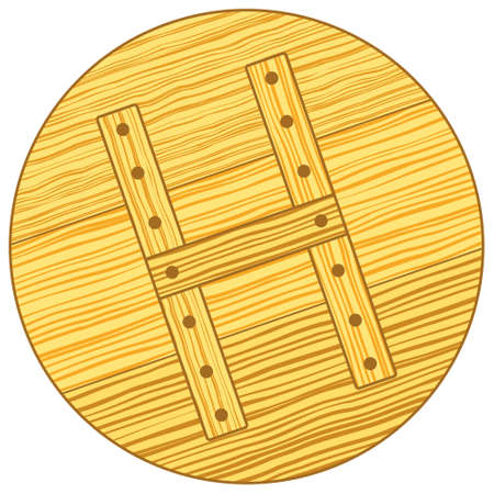 woody: Illustration of the wooden cover