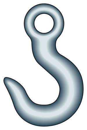 lading: Illustration of the hook icon