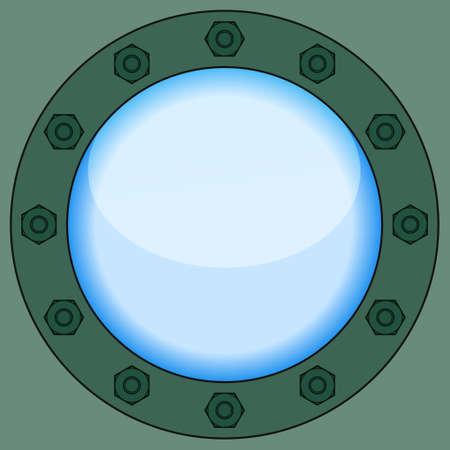 sidelight: Illustration of the porthole icon