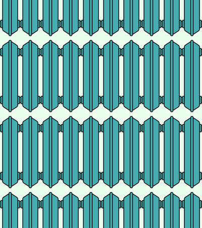 sanitary engineering: Seamless pattern of the radiator elements