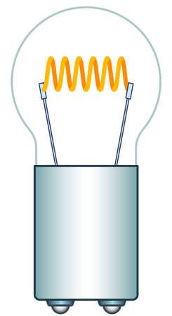 wolfram: Illustration of the car motorcycle mini light bulb