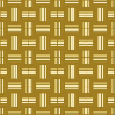plaiting: Seamless pattern of the checked square ornament