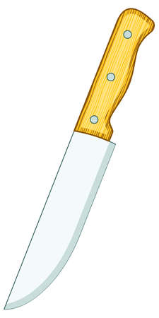 table knife: Illustration of the table knife icon